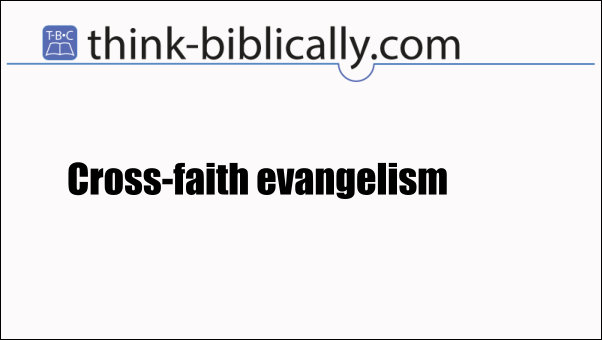 Cross faith evangelism large
