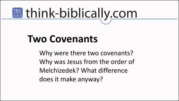 2 Covenants