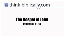 John Prologue Small