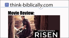 MovieReview Risen Small